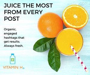 Vitamin H Hashtag Lists